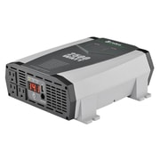 Cedar Electronics Corporation CPI2590 120V AC, 2500 Watt, 2.1A USB, DC to AC Power Inverter, Status LED Meter