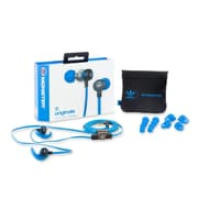 Monster 137010-00 In-Ear 3-Butt Controltalk Headphones, Blue