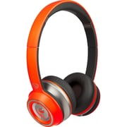 Monster 128582-00 On-Ear Controltalk Universal Neon Headphones, Orange