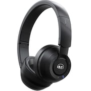 Monster 137101-00 Clarity Over-Ear Sound Isolating Wireless Headphones with Mic, Black