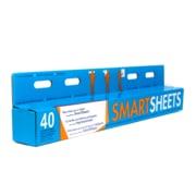 SmartSheets – Feuilles auto-adhésives à effacement sec, blanc, paq./40 feuilles (SS-DE-FG-60X80X32)