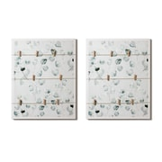 Flower Memo Board With Clips, 2/Pack (2020-BM2864-00)
