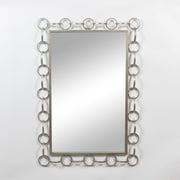 Donny Silver Chain Rectangle Mirror (9011-BM2824-MR)