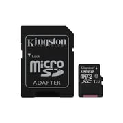 Kingston MicroSDXC Class 10 Flash Memory Card SDCS (SDCS128GBCR)