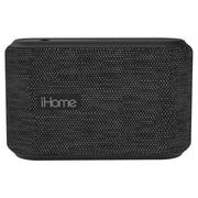 iHome iBT370V2GBC Bluetooth Portable Water Resistant Speaker, Grey/Black
