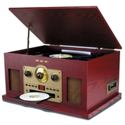 Sylvania 5-in-1 Nostalgic Turntable (SRCD838)