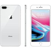 APPLE – Téléphone cellulaire 5,5 po déverrouillé, 64 Go, puce A11 Bionic, iOS 11, argent (MQ8M2VC/A)