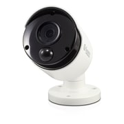 Swann 4K Outdoor IP True Detect Thermal-Sensing Bullet Security Camera with Audio, White (SWNHD-885MSB)