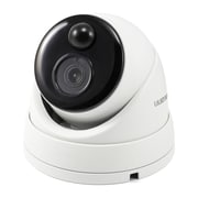 Swann 5MP Outdoor IP True Detect Thermal-Sensing Dome Security Camera with Audio, White (SWNHD-866MSD)