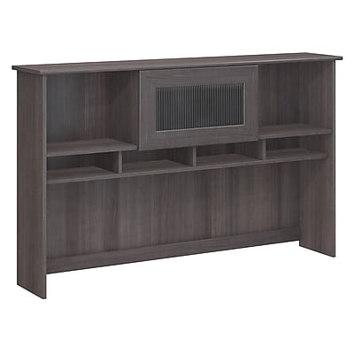 Bush Furniture Cabot Hutch, Heather Gray (WC31731)