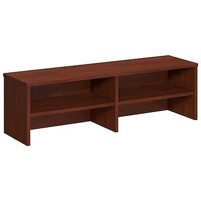 Bush Business Furniture Westfield Elite 46W Desk Top Organizer, Hansen Cherry, Installed (WC24510FA)