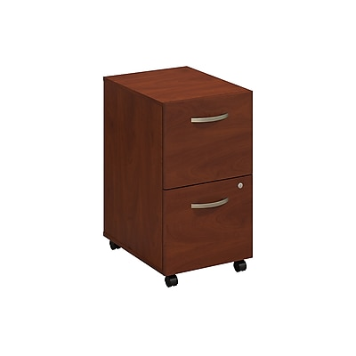Bush Business Furniture Westfield Elite 2 Drawer Mobile File Cabinet, Hansen Cherry (WC24552)