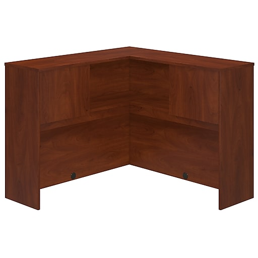 Bush Business Furniture Westfield Elite 48W Corner Hutch, Hansen Cherry (WC24545)