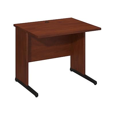 Bush Business Furniture Westfield Elite 36W x 30D C Leg Desk, Hansen Cherry (WC24530)