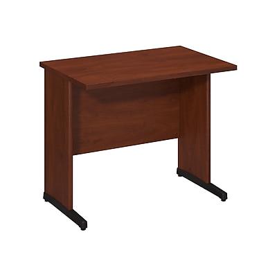 Bush Business Furniture Westfield Elite 36W x 24D C Leg Desk, Hansen Cherry, Installed (WC24529FA)