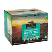 Brown Gold® Variety Pack, K-Cup Compatible,36/Pack