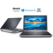 DELL Refurbished LATITUDE E6420 14-inch Notebook, 2.4 GHz Intel Core i7 2760QM, 500 GB HDD, 8 GB DDR3, Windows 10 Professional