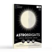 "Astrobrights Metallic Cardstock, 8.5"" x 11"", 65 lb., 2-Colour Assortment, 50 Sheets (98880)"