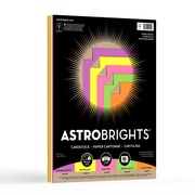 "Astrobrights Coloured Cardstock, 8.5"" x 11"" 70 lb., Kraft Double Colour Assortment, 80 Sheets (99914)"