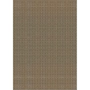Mad Mats Basic Outdoor Reversible Rug, Brown/Ginko