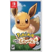 Jeu Pokemon Let's Go Eevee, pour Nintendo Switch
