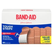BAND-AID Brand® – Pansements TOUGH-STRIPS en tissu