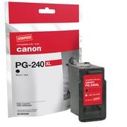 Staples Cartouche d'encre réusinée, Canon PG-240XL, noir, rendement élevé