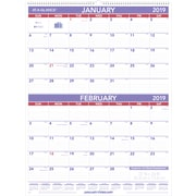 AT-A-GLANCE® – Calendrier mural mensuel, 2 mois