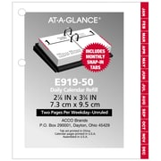 AT-A-GLANCE® – Recharge pour calendrier de table 2019, 3 po x 3 3/4 po
