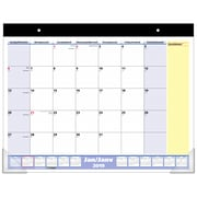 "AT-A-GLANCE 2019 QuickNotes Monthly Desk Pad Calendar, 22"" x 17"", Bilingual"