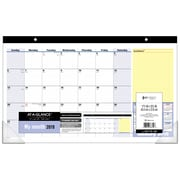 AT-A-GLANCE® – Calendrier sous-mains mensuel QuickNotes® 2019, 17 3/4 po x 10 7/8 po, bilingue
