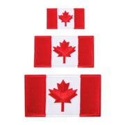 Austin House AH99IP91 Iron On Canada Patches, Red