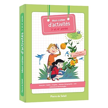 Activity Learning Book 3rd And 4th Grade Staples