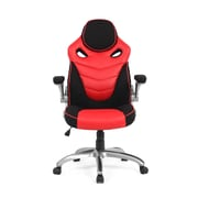 Moustache® Ergonomic Office Desk Computer Gaming Chair, Red (H1445)