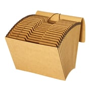 Pendaflex Expanding Files, with Flap, Kraft, A-Z Tabs, 21 Pockets, Letter