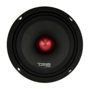 "DS18 PRO Series 6"" Midrange 4-Ohm Auto Loudspeaker with Bullet Tweeter, 500 Watts"