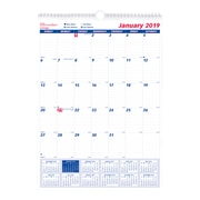 """2019 Brownline® 12-Month Monthly Professional Wall Calendar, 12"""" x 17"""" (C171102-19)"""