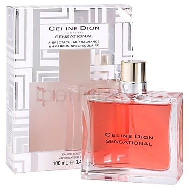 Celine Dion Sensational Eau De Toilette Spray 100ml Staples