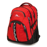 High Sierra Access II Backpack, Crimson/Black