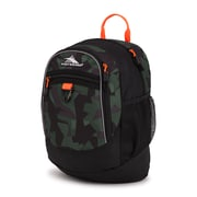High Sierra Mini Fatboy Backpack, Shattered Camo/Black/Electric Orange