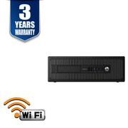 HP Refurbished EliteDesk 800G1-16240 SFF Computer, 3.4 GHz Intel Core i7-4770, 240 GB SSD, 16 GB DDR3, Windows 10 Professional
