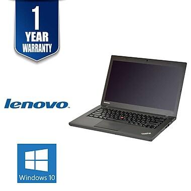 Lenovo - Portatif ThinkPad 20B7S07J00-3 14 po remis à neuf, Intel Core i5-4300U 1,9 GHz, SSD 480 Go, 8 Go DDR3, Windows 10 Pro
