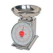 Escali Mercado Mechanical Dial Kitchen Scale with Bowl, Silver