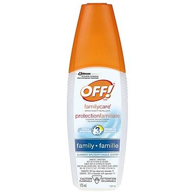 OFF!MD ® Chasse-moustiques protectionfamiliale pour la famille