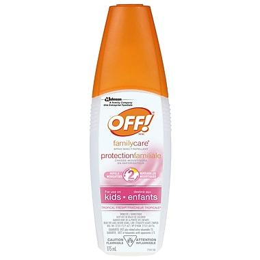 OFF!MD ® Chasse-moustiques protectionfamiliale pour enfants, vaporisateur