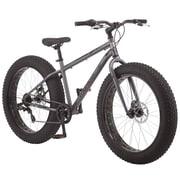 """Mongoose Mushaboom 26"""" Men's Fat Bike, Grey"""