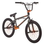 "Mongoose Sion X 20"" Boy's Freestyle BMX, Army/Orange"