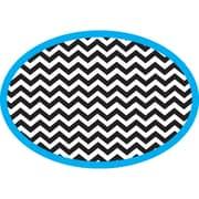 Ashley Magnetic Whiteboard Erasers, Chevron, 1 eraser (ASH10047)