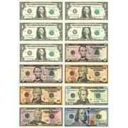 Ashley Math Die Cut Magnet, U.S. Dollars, 5/Pack