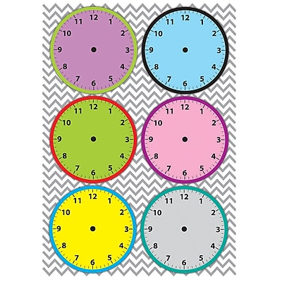 Ashley Magnetic Time Organizers, Clockfaces (ASH10090)